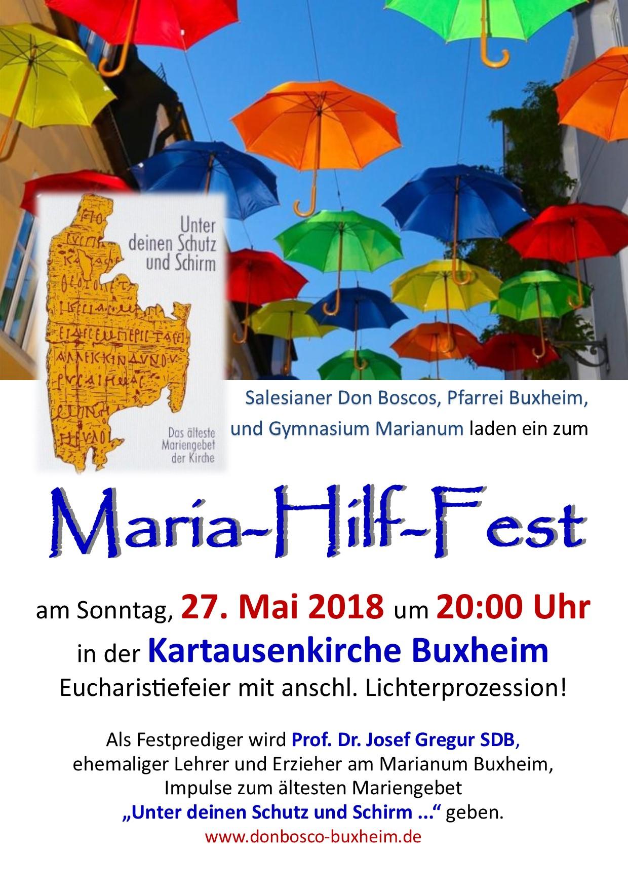 Maria Hilf Fest 2018